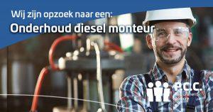 Onderhoud diesel monteur
