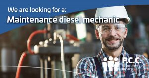 Maintenance diesel mechanic